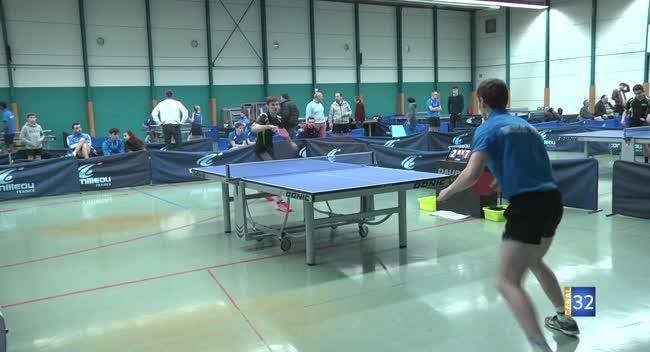 Canal 32 - Tennis de Table Prénational : le TOS/Les Noës redémarre victorieusement face à Belfort : 8-3