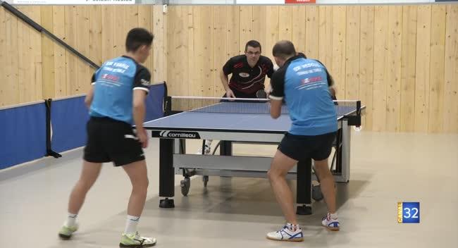 Canal 32 - Tennis de table : un de chute pour Moussey face à Vesoul : 2-8