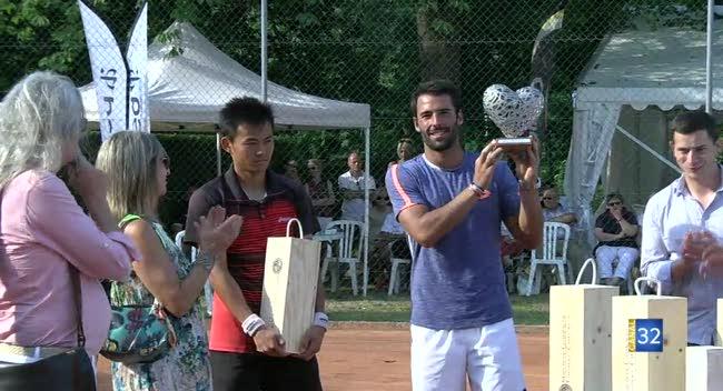 Canal 32 - Tennis : Jonathan Eysseric s'impose aux Internationaux de Troyes