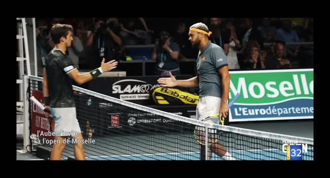 Canal 32 - Tennis : l'Aube s'invite au Moselle Open