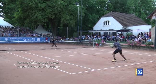 Canal 32 - Tennis : les Internationaux de Troyes montent en gamme