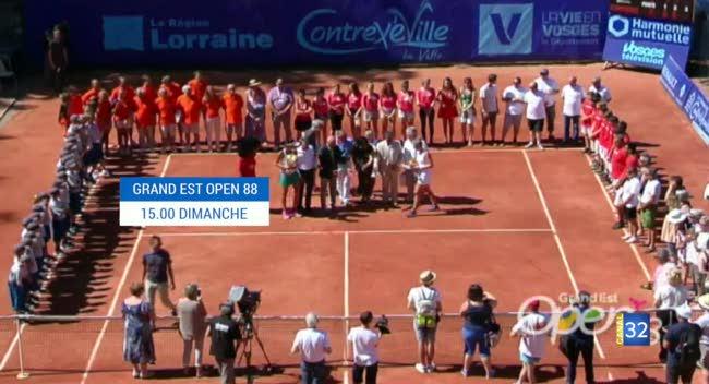 Canal 32 - Tennis : ne manquez pas la finale de l'Open 88 ce dimanche à 15h sur Canal 32 !