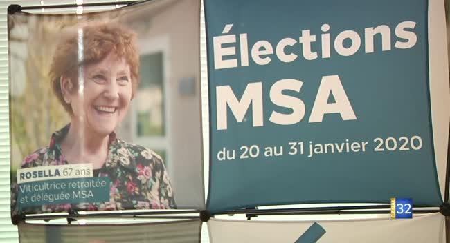 Canal 32 - Terres et Vignes - les élections à la MSA