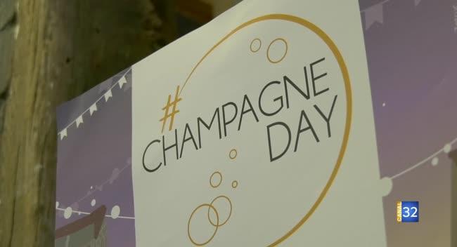 Canal 32 - Terres et Vignes - la semaine Champagne Day