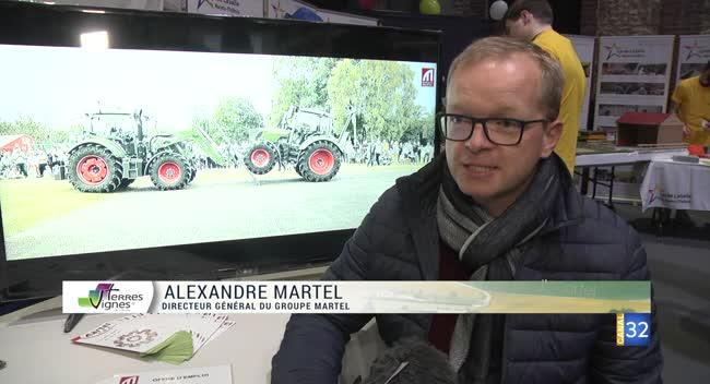 Canal 32 - Terres et Vignes - Le machinisme agricole, une filière qui recrute