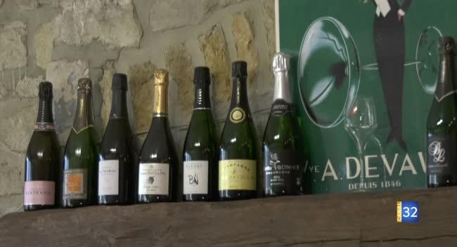 Canal 32 - Terres et Vignes - un concours de vins de de Champagne à Bar/Seine
