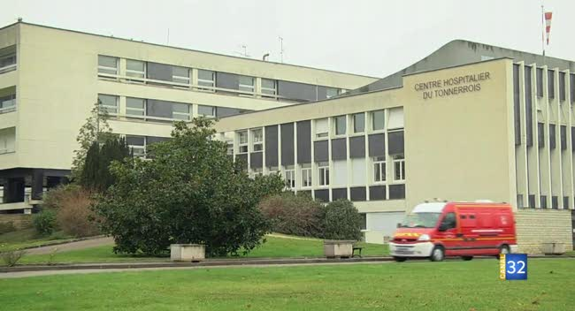 Canal 32 - Tonnerre (Yonne) : les urgences de l'hôpital menacées de fermeture la nuit.