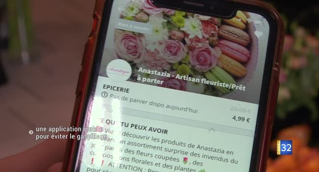 Canal 32 - Too Good To Go : une application mobile pour lutter contre le gaspillage