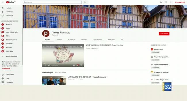 Canal 32 - TPA - la web tv de Troyes Parc Auto