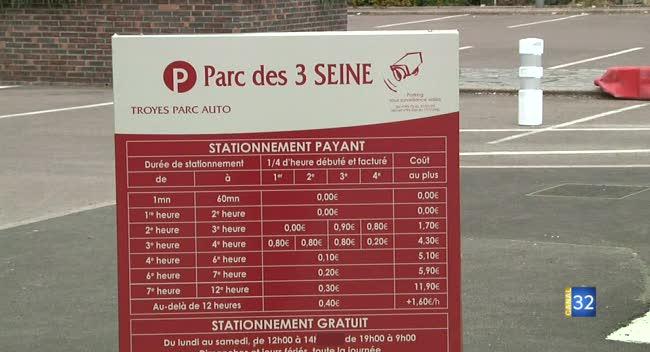 Canal 32 - TPA - les 3 nouveaux parcs de stationnement