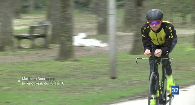 Canal 32 - Triathlon : le TG Tri 10 mise sur Matthieu Bourgeois