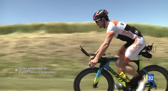 Canal 32 - Triathlon : le champion cycliste Pierre-Henri Lecuisinier reprend du service