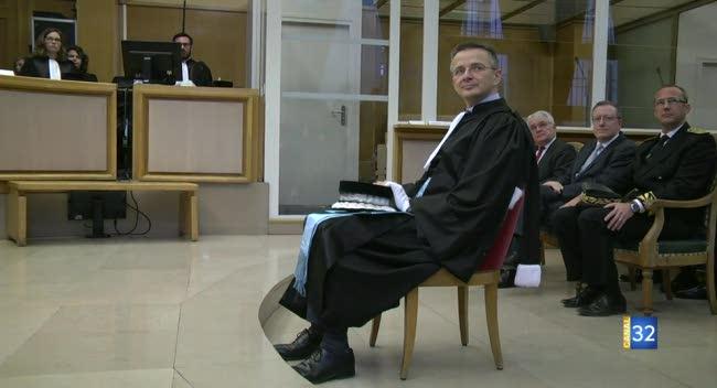 Canal 32 - Tribunal de Troyes : Raoul Carbonaro, un nouveau président en terrain connu