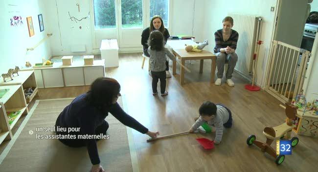 Canal 32 - Sainte-Savine : trois assistantes maternelles s'installent ensemble