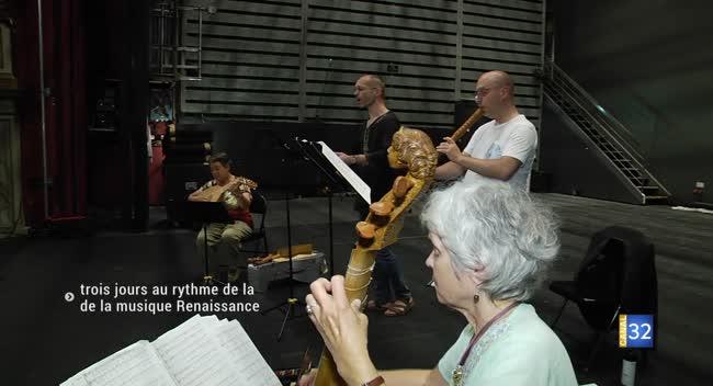 Canal 32 - Trois jours au rythme de la musique Renaissance dans l'Aube