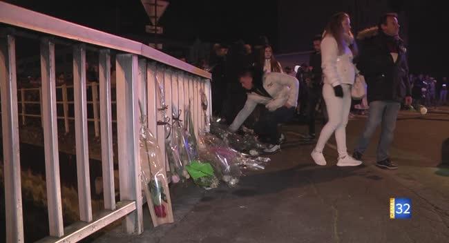 Canal 32 - Troyes: 370 personnes ont marché en hommage à Camille, Corantin et Enzo