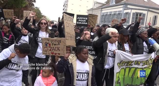Canal 32 - Troyes : 400 personnes réunies en mémoire de Zakaria Touré