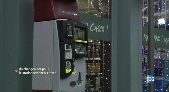 Canal 32 - Troyes : amendes, horodateurs... du changement pour le stationnement