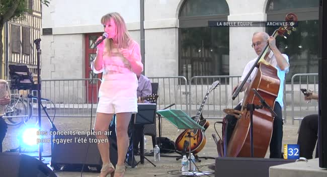Canal 32 - Ville en Musiques à Troyes : des concerts en plein-air pour égayer l'été