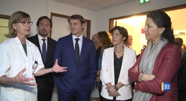 Canal 32 - Troyes : la ministre de la Santé en visite