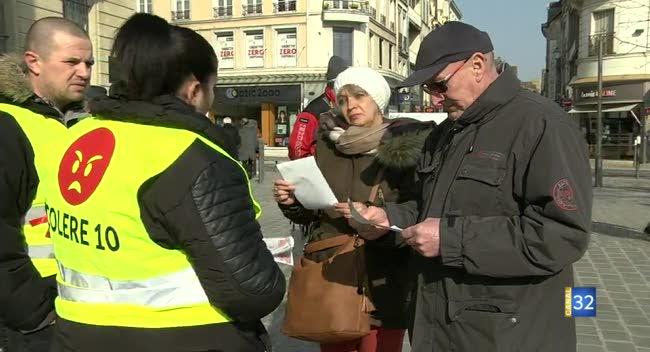 Canal 32 - Troyes : le collectif Colère 10 veut se faire connaitre et rassembler