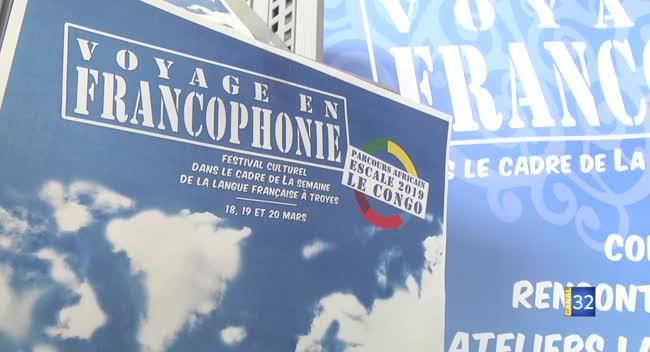 Canal 32 - Troyes : le Congo mis à l'honneur pour le festival Voyage en francophonie