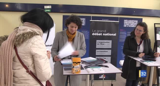 Canal 32 - Troyes : le Grand Débat National se délocalise en gare