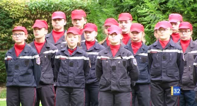 Canal 32 - Troyes : les jeunes sapeurs-pompiers font leur rentrée