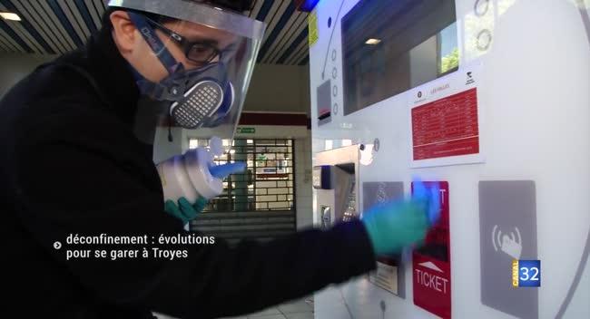 Canal 32 - Troyes : les modalités de stationnement évoluent avec le déconfinement