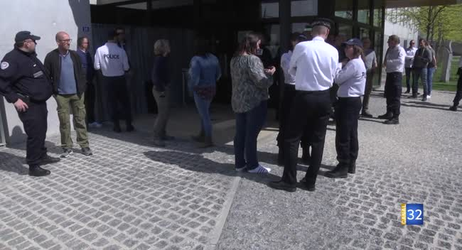 Canal 32 - Troyes : les policiers dénoncent de mauvaises conditions de travail