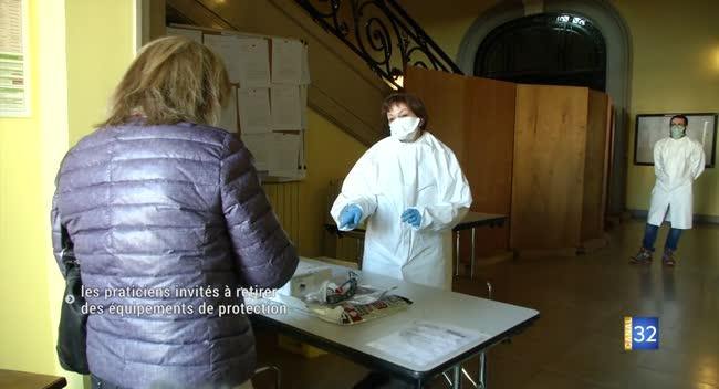 Canal 32 - Troyes : les praticiens aubois invités à retirer des équipements de protection