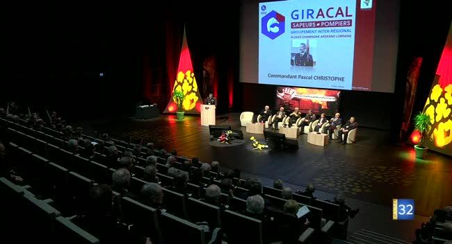 Canal 32 - Troyes : les sapeurs-pompiers de toute la région réunis en congrès
