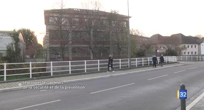 Canal 32 - Troyes : l'hôtel des sécurités sera opérationnel en 2022