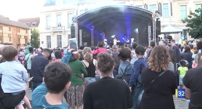 Canal 32 - Troyes : près de 40 000 personnes à la fête de la musique