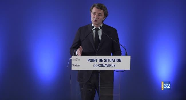 Canal 32 - Troyes : présentation du plan local de déconfinement