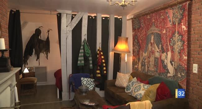 Canal 32 - Troyes : un appartement s'inspire de la saga Harry Potter