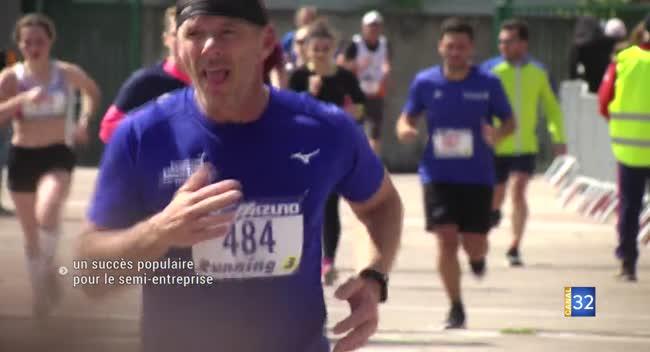Canal 32 - Troyes : un nouveau succès populaire pour le semi-marathon entreprise