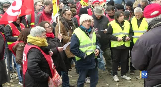 Canal 32 - Réforme des retraites : l'intersyndicale veut poursuivre le mouvement dans l'Aube