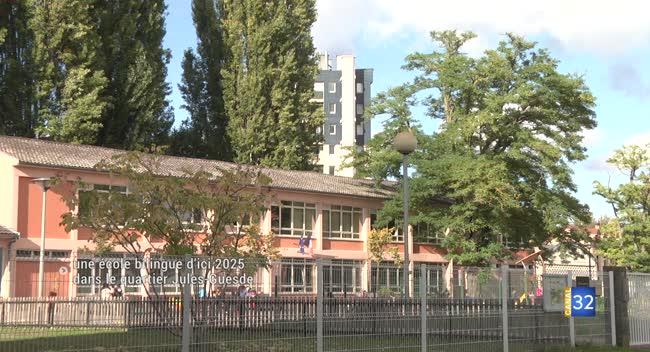 Canal 32 - Troyes : une école bilingue d'ici 2025 dans le quartier Jules-Guesde.