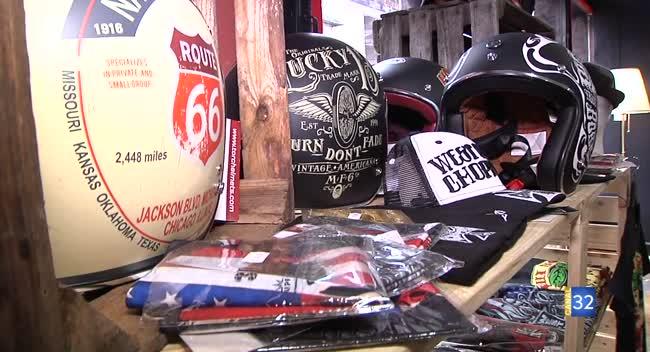 Canal 32 - Troyes : une boutique de prêt-à-porter dédiée aux bikers