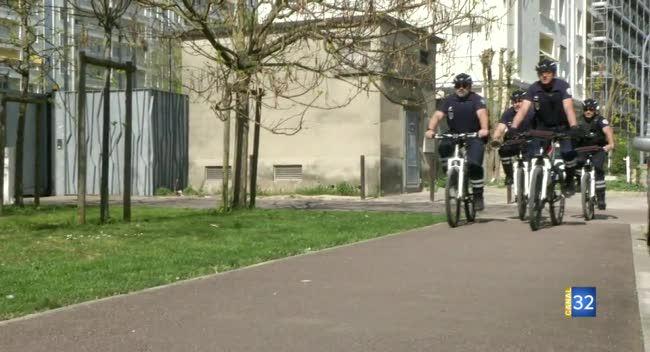 Canal 32 - Troyes : une patrouille de policiers à vélo