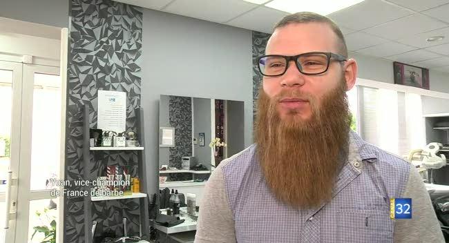 Canal 32 - Troyes : Yoan, vice-champion de France de la plus belle barbe