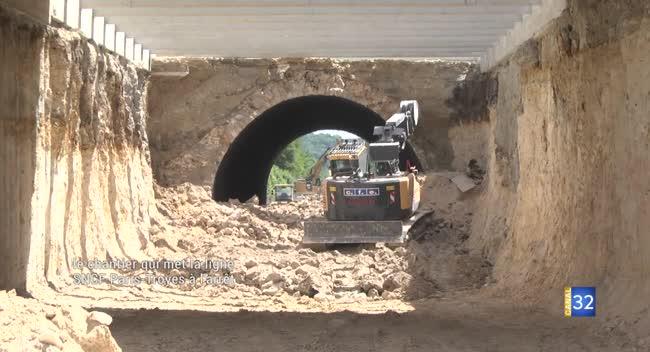 Canal 32 - Tunnel des Bouchots : le chantier qui met à l'arrêt la ligne SNCF Paris-Troyes