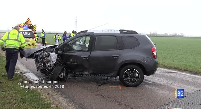 Canal 32 - Un accident par jour sur les routes auboises en 2018