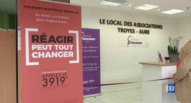 Canal 32 - Saint-Parres-aux-Tertres : un accueil au sein d'une grande surface pour les femmes victimes de violences