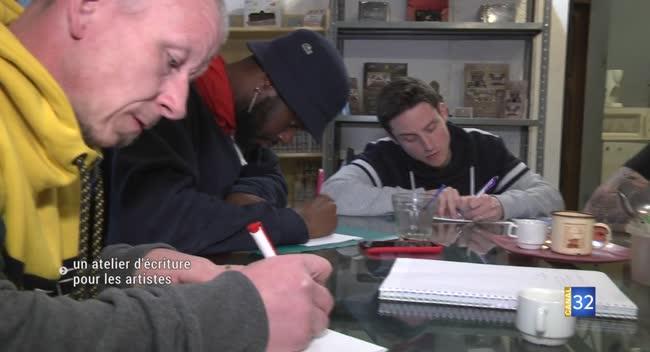 Canal 32 - Un atelier d'écriture pour les artistes locaux émergents