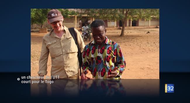 Canal 32 - Un chercheur de l'UTT court pour la bonne cause !