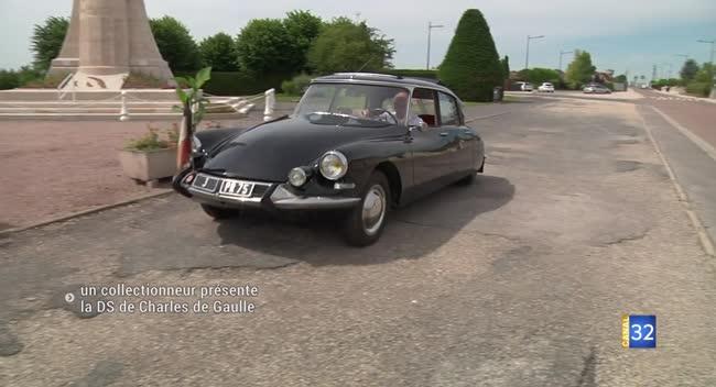 Canal 32 - Romilly-sur-Seine : il collectionne la DS de parade du général de Gaulle !