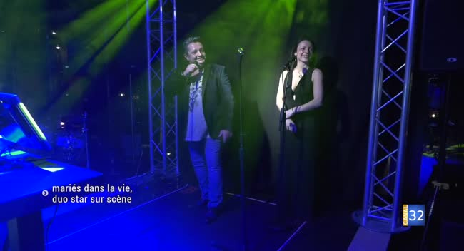 Canal 32 - Cindy et Gérard Piccioli, un duo dans la vie comme sur scène