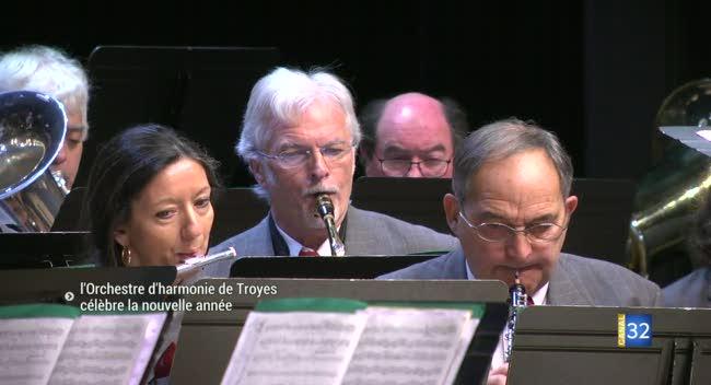 Canal 32 - Un concert pour fêter le nouvel an avec l'Orchestre d'harmonie de Troyes